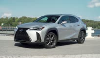 Lexus UX 200 Platinum Silver FSPORT Red B-roll