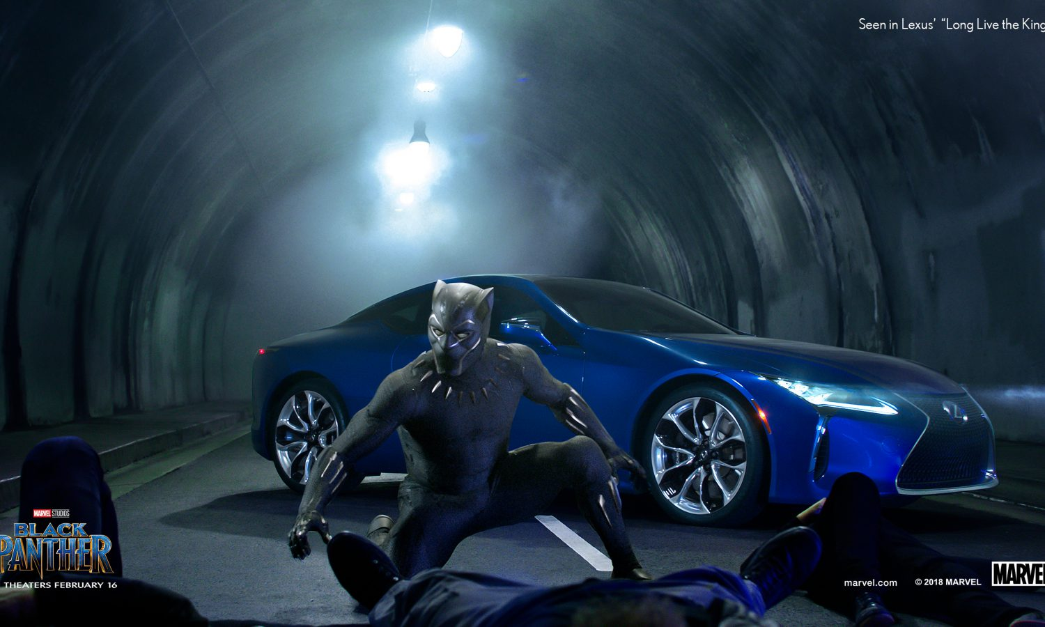 "Lexus Releases Extended Version of Super Bowl Spot with Marvel Studios' ""Black Panther"""