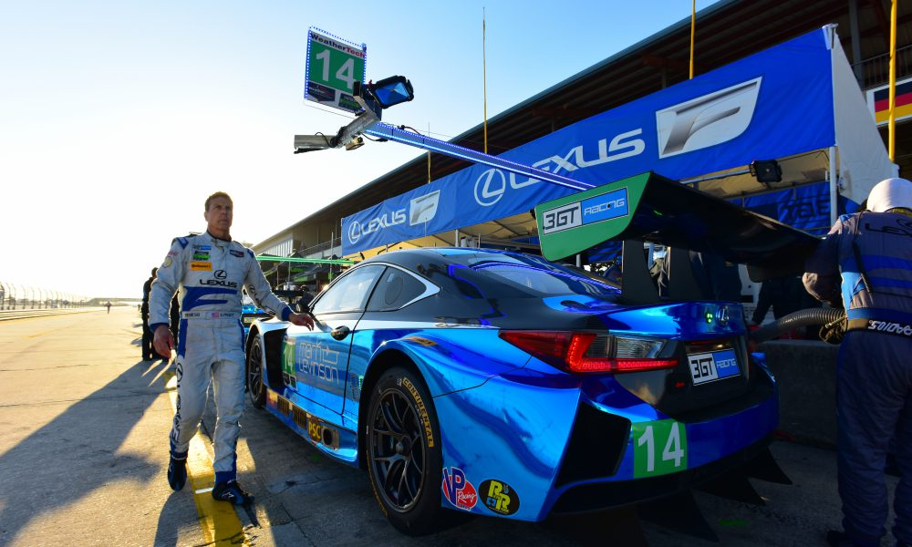Scott Pruett Transitions to Lexus Brand Ambassador Role