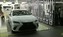 2019 Lexus ES Production Launch B-roll