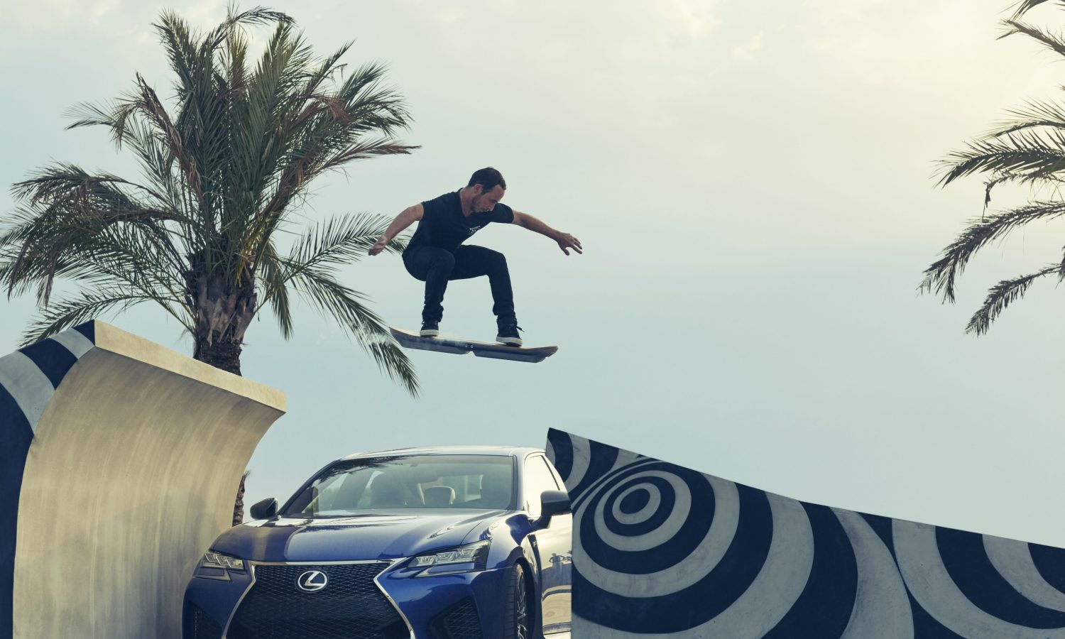 Lexus Hoverboard Ride Revealed
