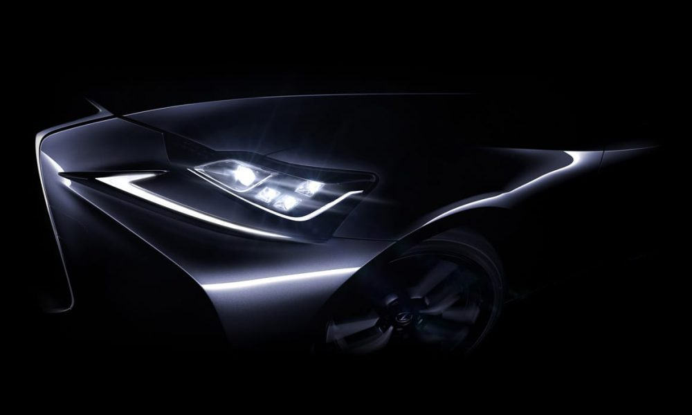 New Lexus IS to Make World Debut at 2016 Beijing International Automotive Exhibition