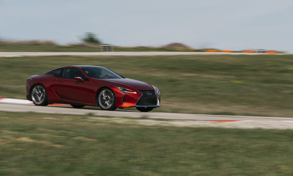 "Lexus LC 500 Takes Top Honors  as the 2018 ""Car of Texas"" at Texas Auto Writers Auto Roundup"