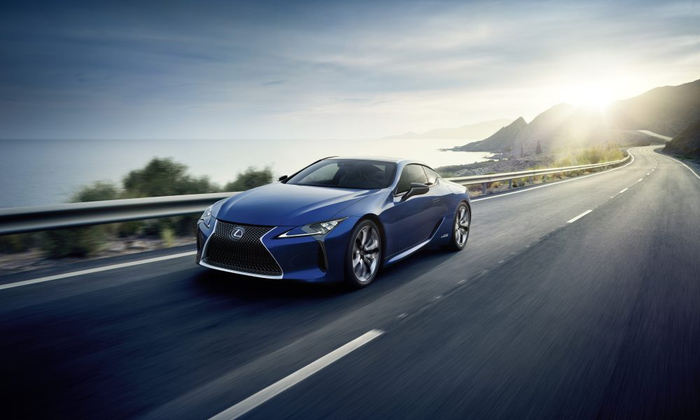World Premiere of the All-New Lexus LC 500h Features Next-Generation Lexus Multi Stage Hybrid System and an All-New Platform