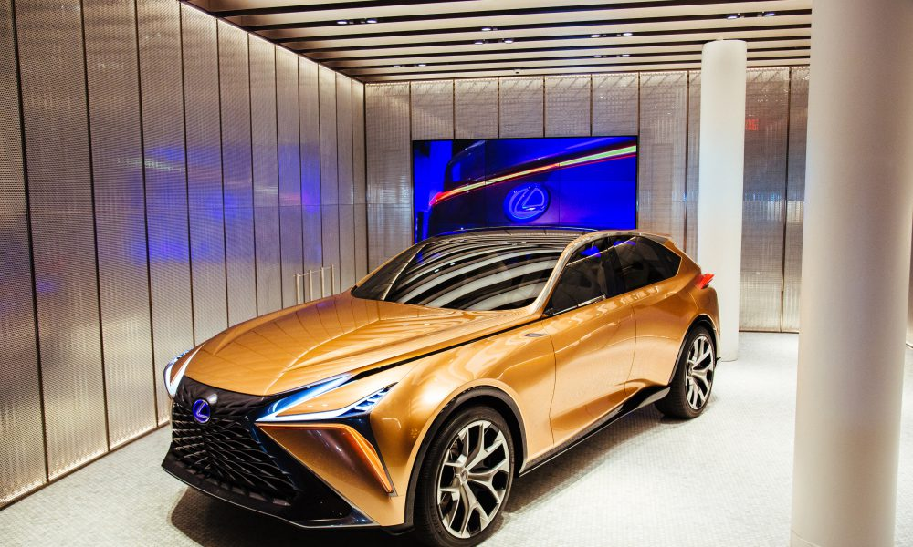 LF-1 Limitless Concept Vehicle Makes New York City Debut at INTERSECT BY LEXUS