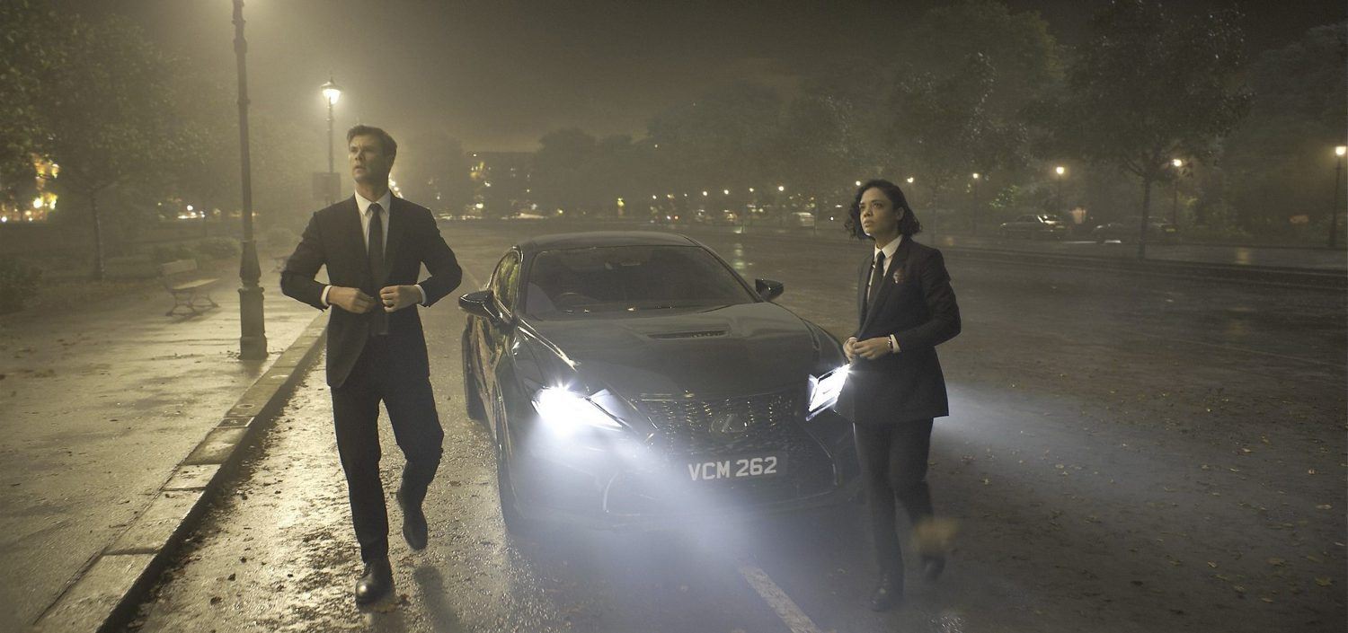 Lexus Helps Save the Universe in Sony Pictures' Men in Black