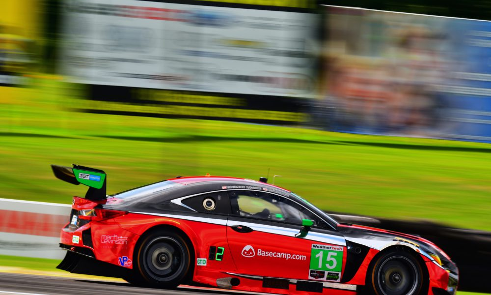 Lexus RC F GT3s Set to Compete in Virginia