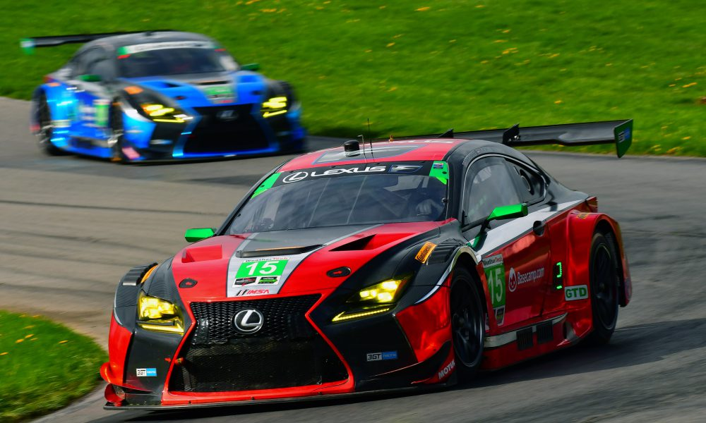 Lexus RC F GT3s Riding in Style at Laguna Seca