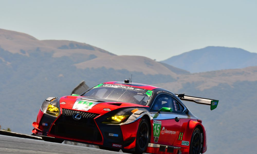 Two RC F GT3 Top-10s at Laguna Seca