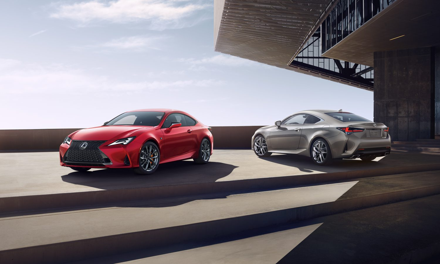 2019 Lexus RC Press Kit