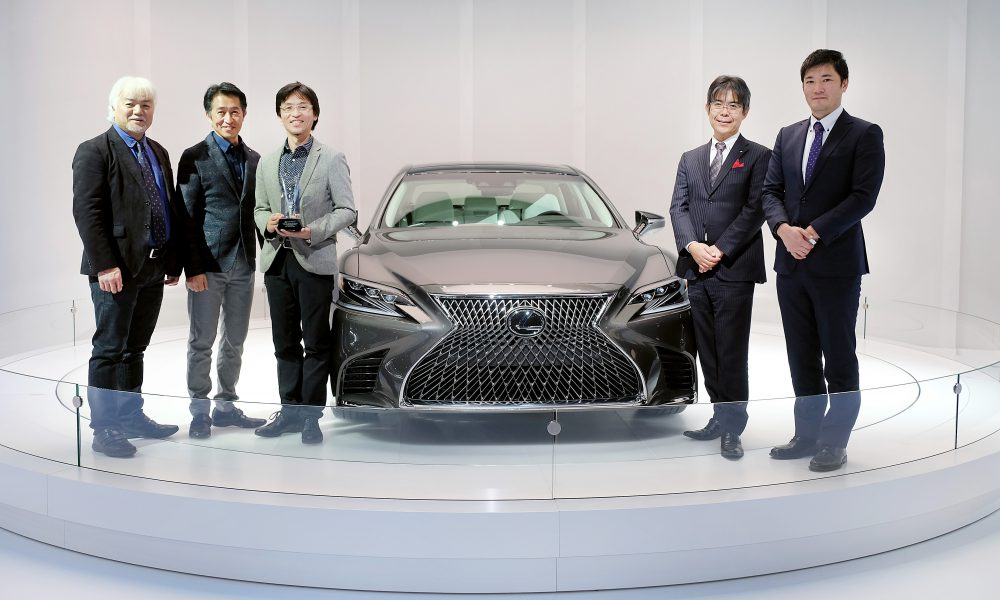 Lexus LS 500 Flagship Sedan Receives 2017 EyesOn Design Award