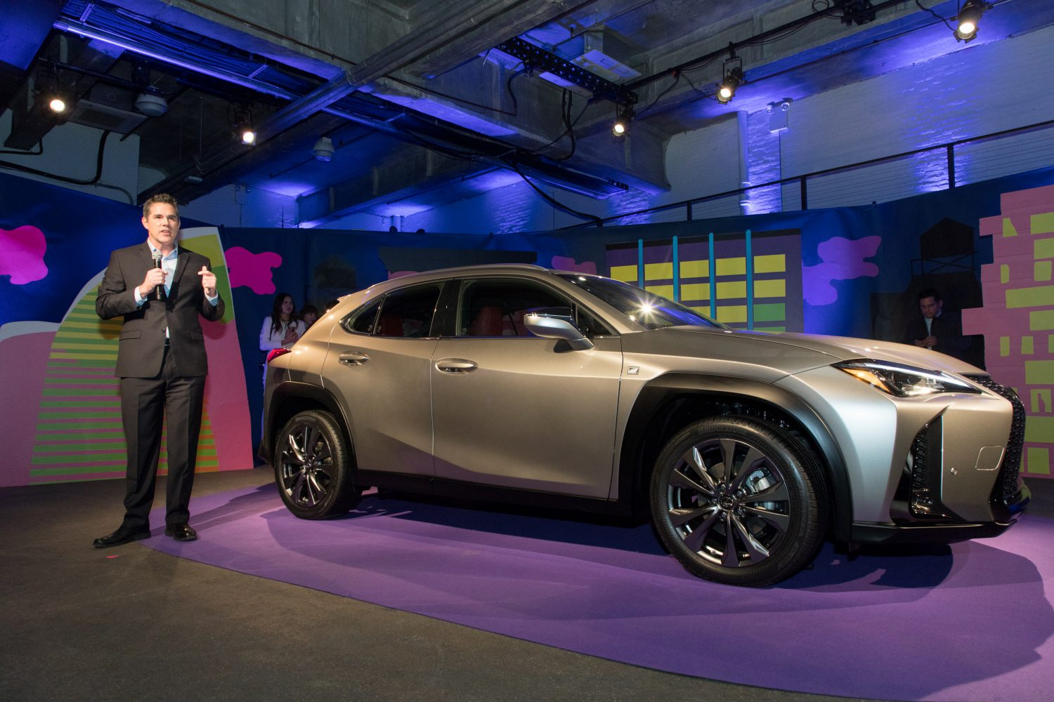 2018 Lexus UX: News, Design, Hybrid, Arrival >> First Ever Lexus Ux Compact Luxury Crossover Makes North