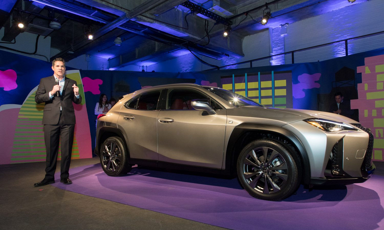 First-Ever Lexus UX Compact Luxury Crossover Makes North American Debut at New York International Auto Show
