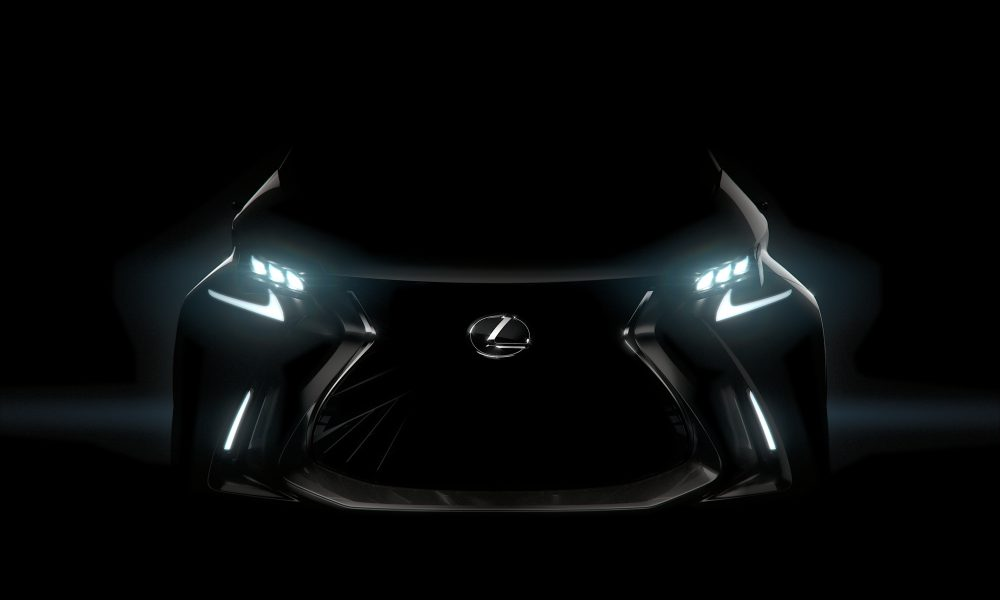 Lexus LF-SA Concept to Make World Premiere at the 2015 Geneva Motor Show
