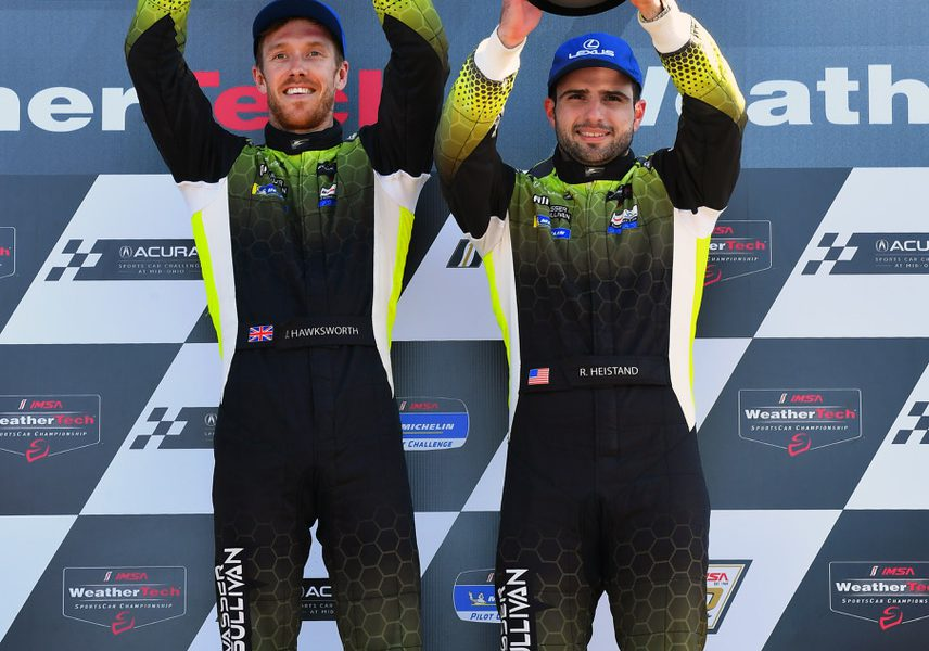 2019 Lexus Mid Ohio Post Race Podium