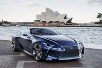 Lexus Reveals LF-LC Blue at 2012 Australian International Motor Show