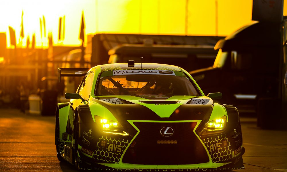 2019 Lexus Mid Ohio Race RC F GT3