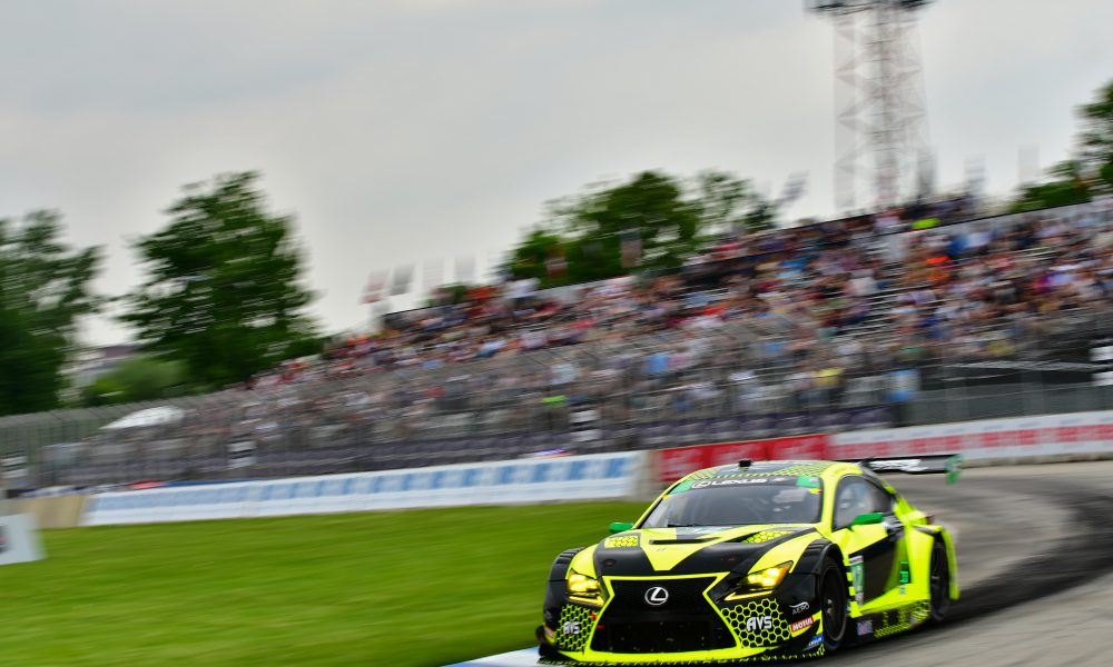 2019 Lexus Motorsports June 3 No 12 Lexus Second Podium Finish