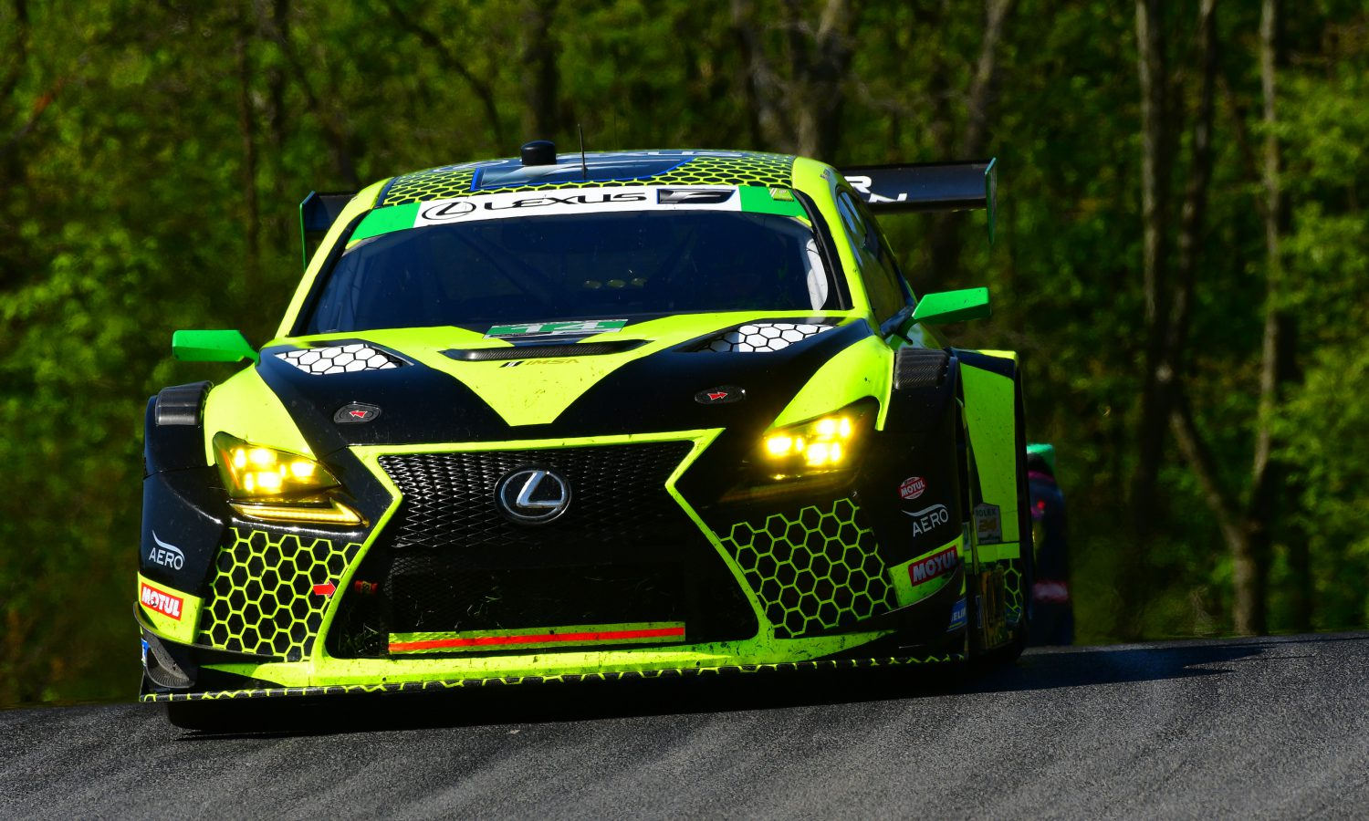 RC F GT3 Ready to Race in Detroit