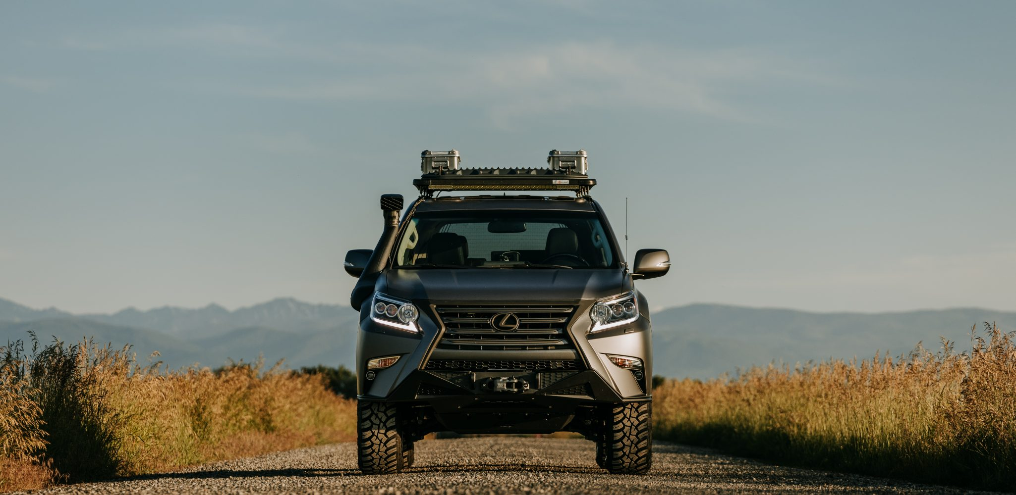 Lexus GXOR Concept is Made for Adventure