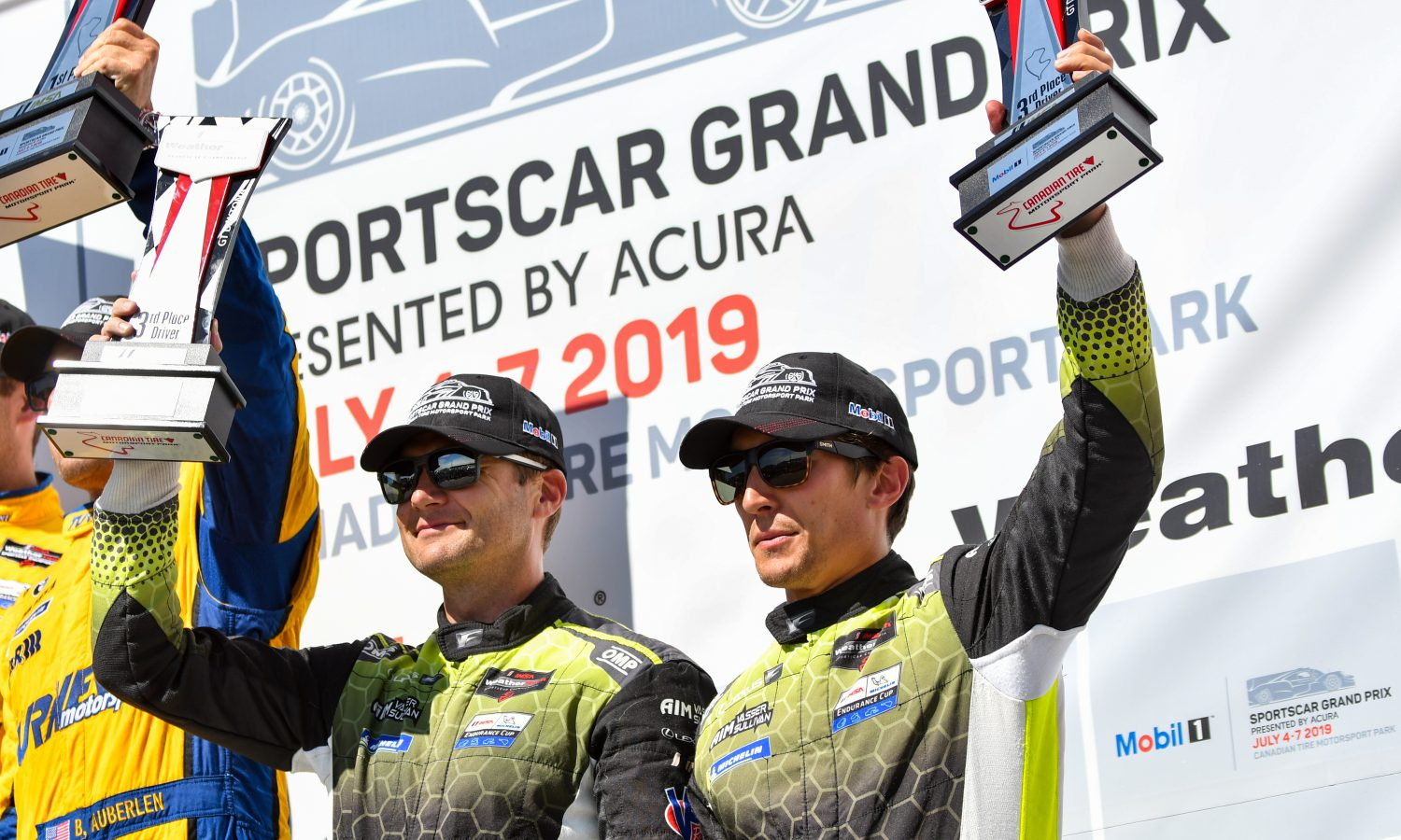 Lexus RC F GT3 Collects Canada Podium