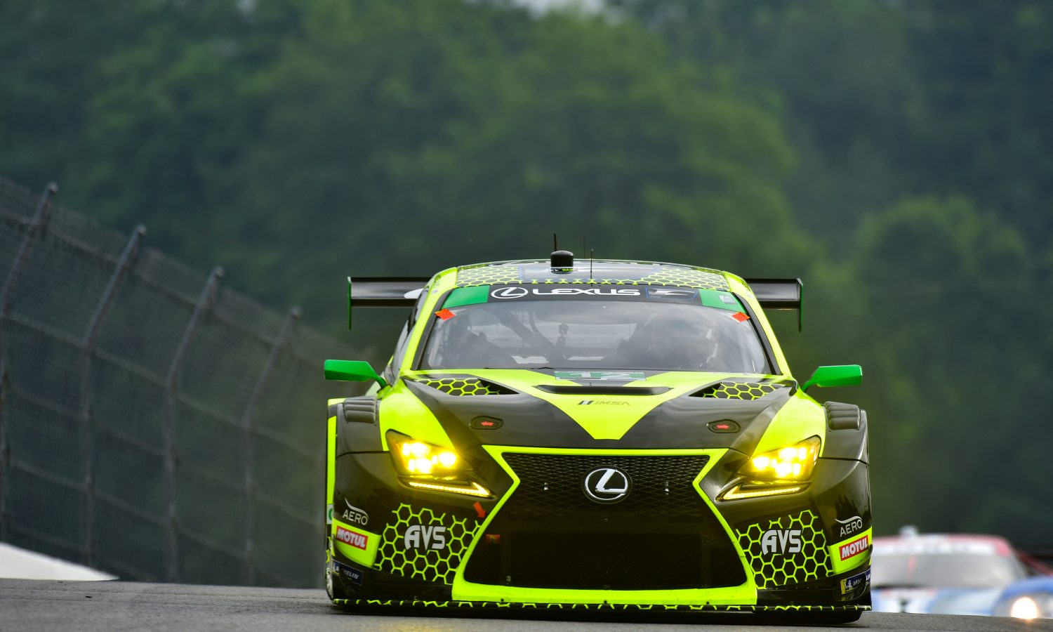 Lexus and AIM VASSER SULLIVAN Set to Compete in Lime Rock GT-Only Race