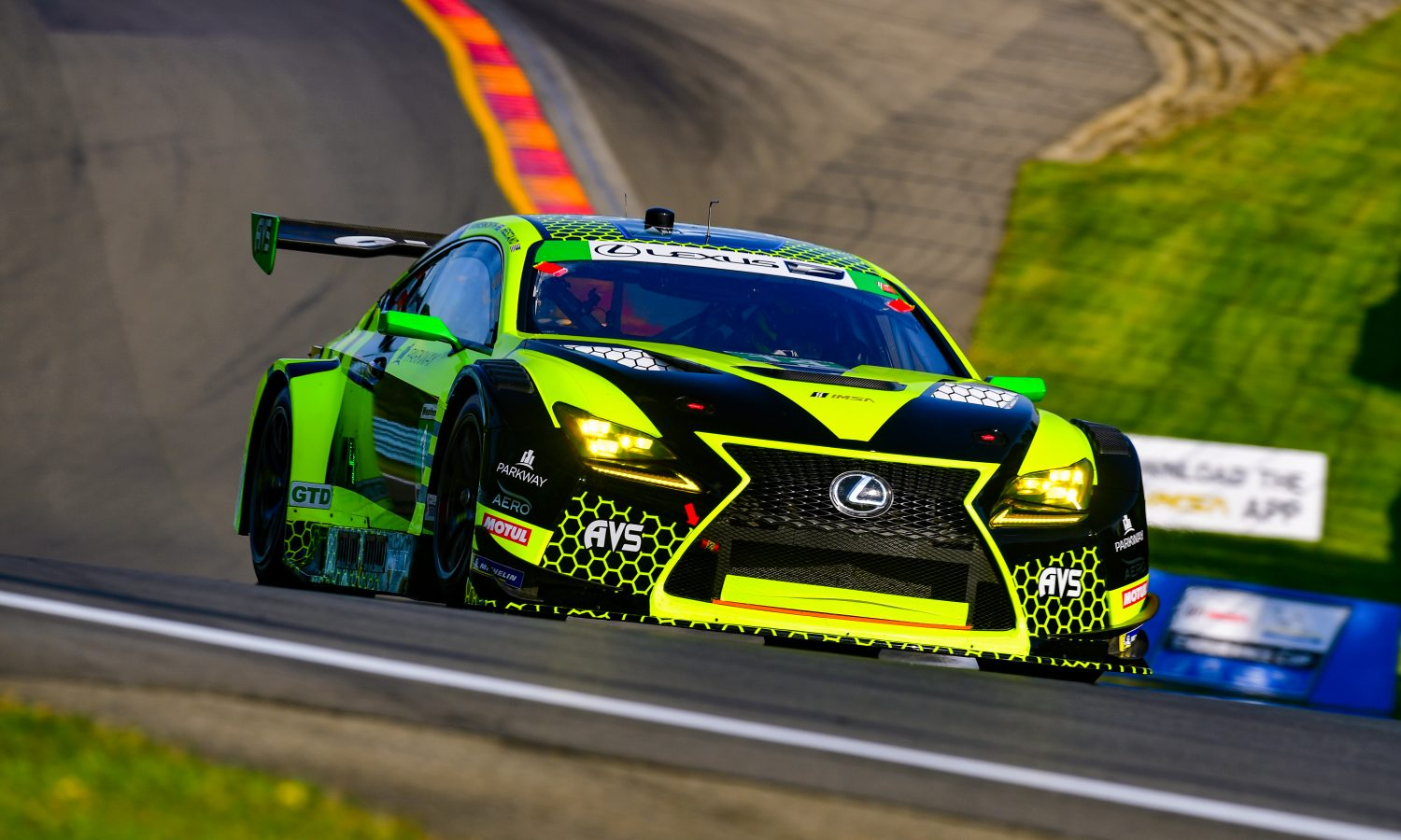 Lexus RC F GT3s Set for Sprint Race in Canada