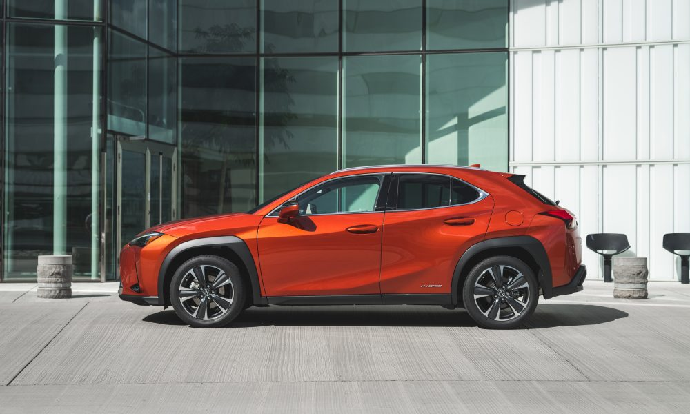 Lexus UX 250h Cadmium Orange B-roll