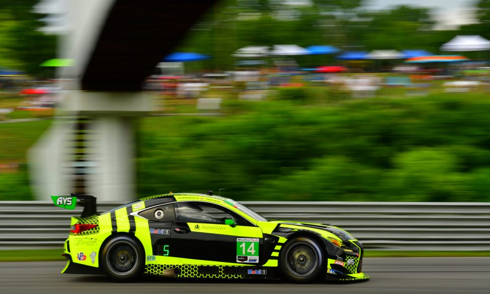 Lexus RC F GT3 Registers Top-10 at Lime Rock