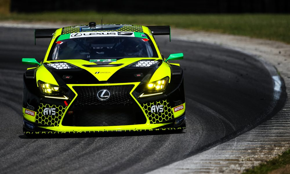 Lexus RC F GT3 Race-Ready for Road America