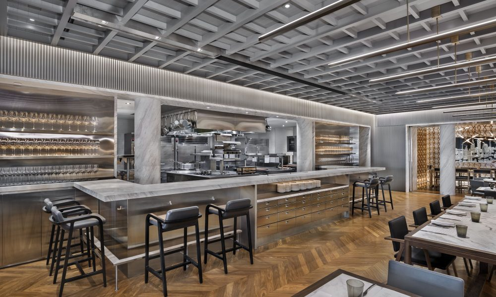 Intersect by Lexus-NYC_View into the Open Kitchen FL2