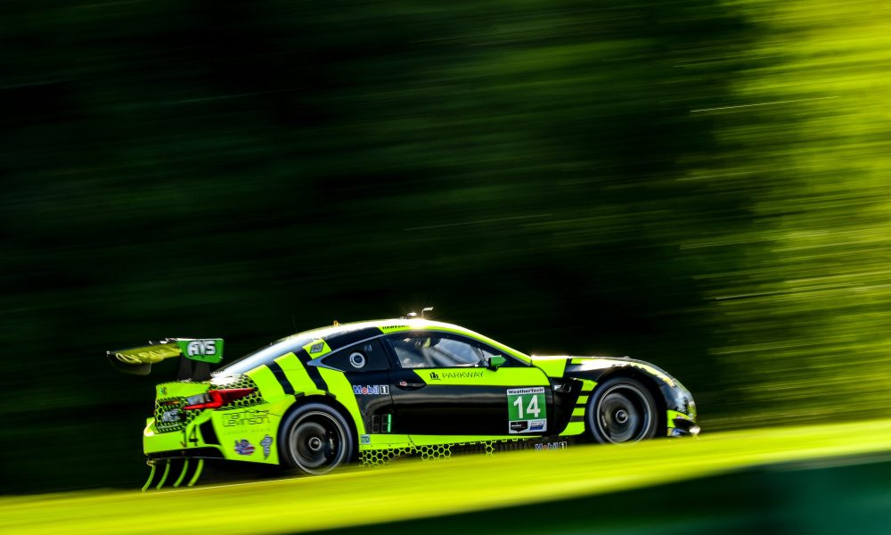 AIM VASSER SULLIVAN Earns Top-10 Finish at VIR in Lexus RC F GT3