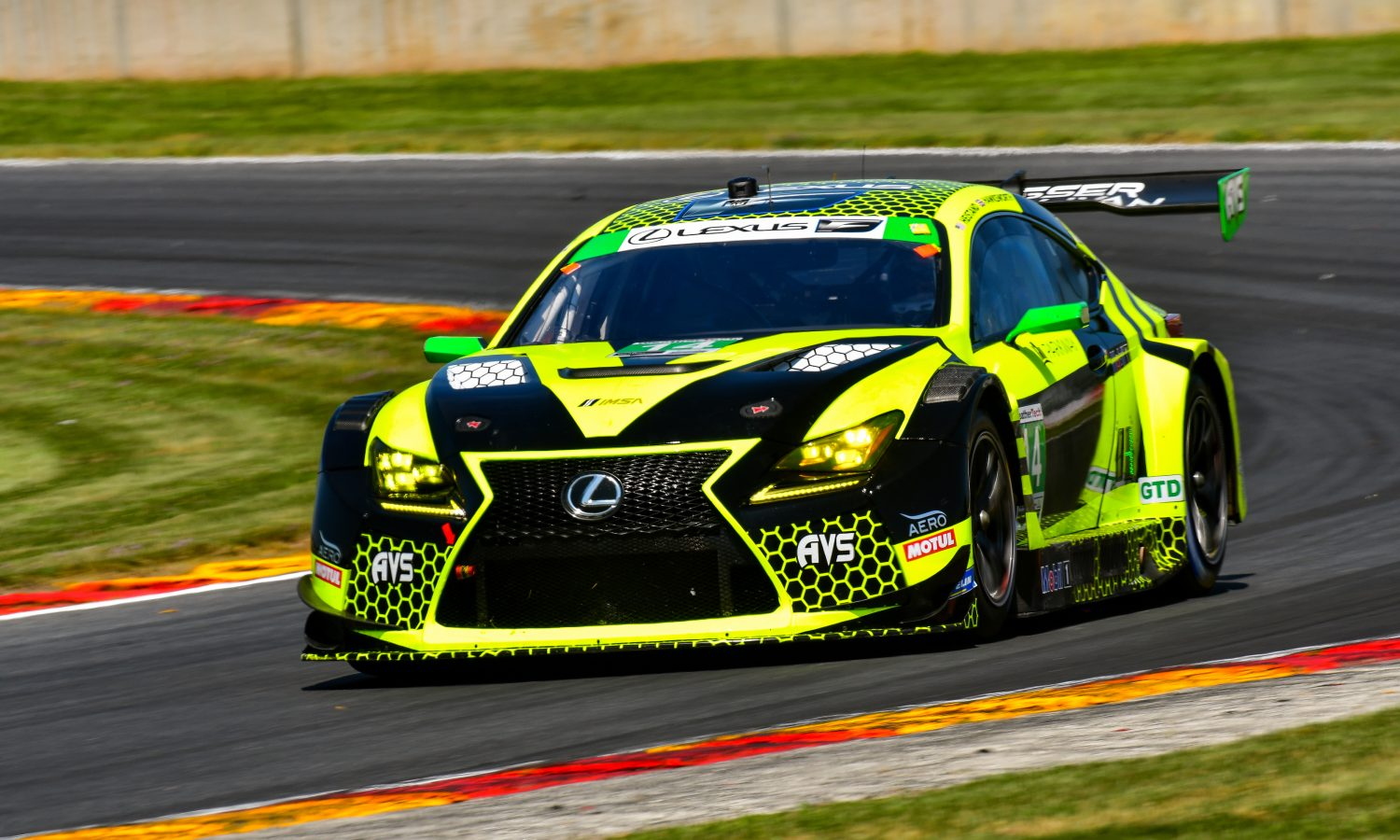 Lexus RC F GT3 Sprinting to the Finish