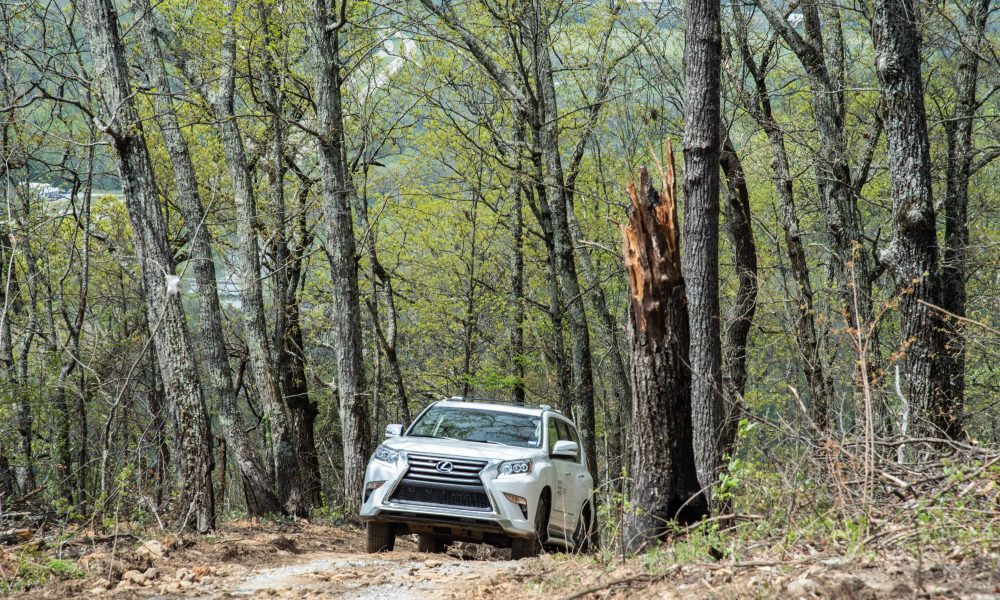 Blackberry Mountain and Lexus Introduce Lexus Off-Road Adventure