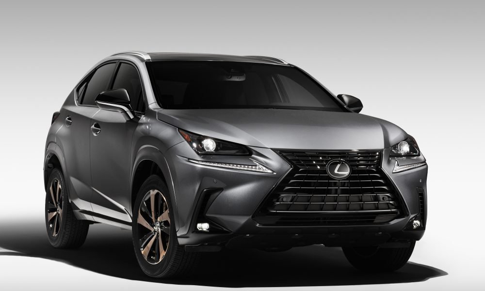 BLACK LINE SPECIAL EDITION SERIES GOES BRONZE FOR THE 2020 LEXUS NX 300