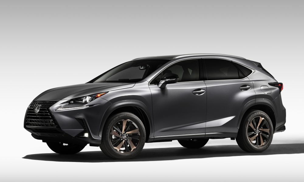 2020 Lexus NX Black Line Side