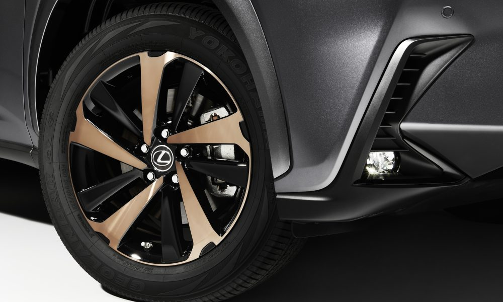 2020 Lexus NX Black Line Wheel
