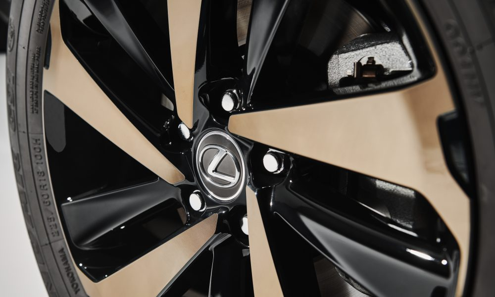 2020 Lexus NX Black Line Wheel Detail