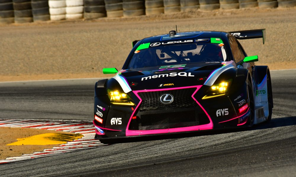 Lexus Secures Second in Inaugural IMSA Sprint Cup Championship