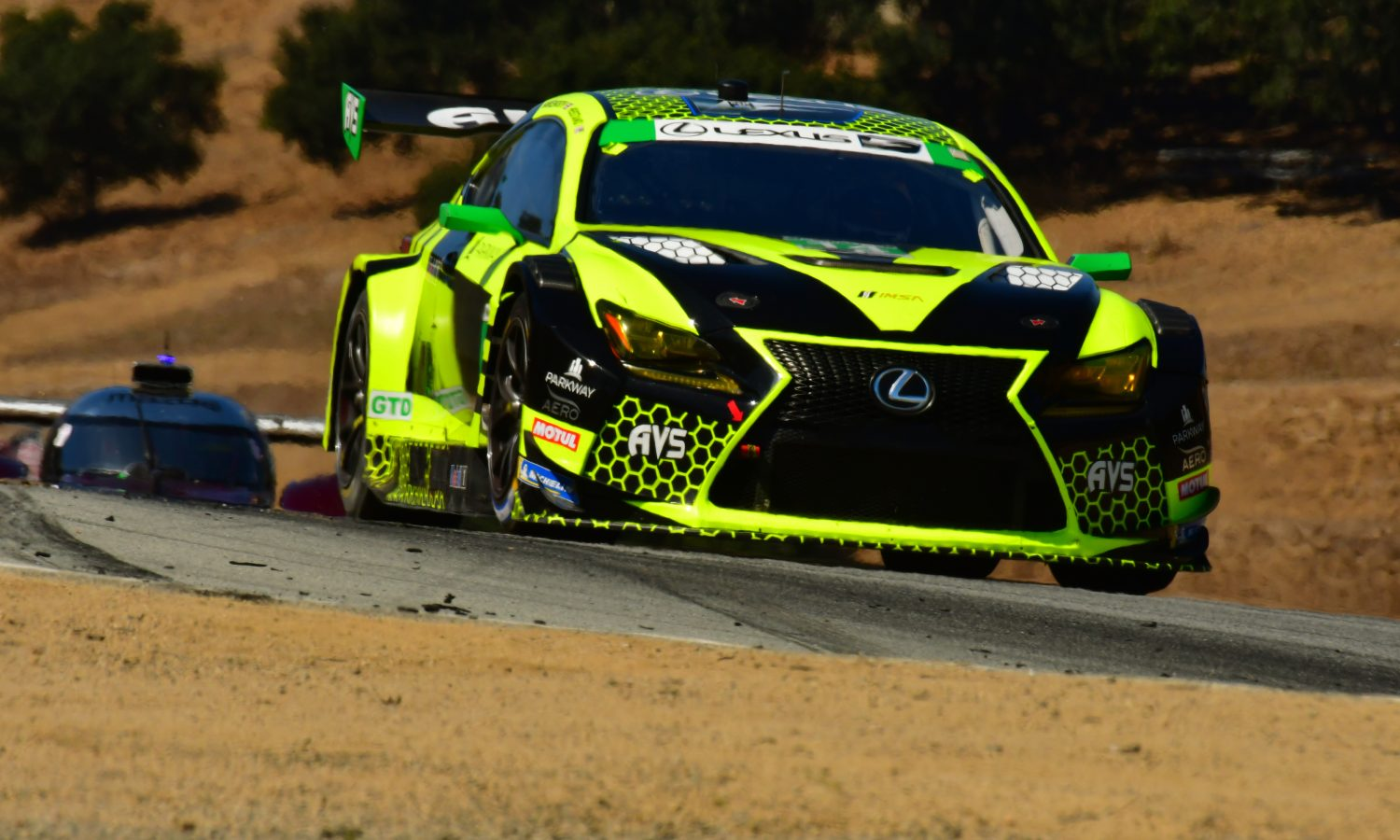 Lexus RC F GT3s Look to Finish Season Strong at Road Atlanta