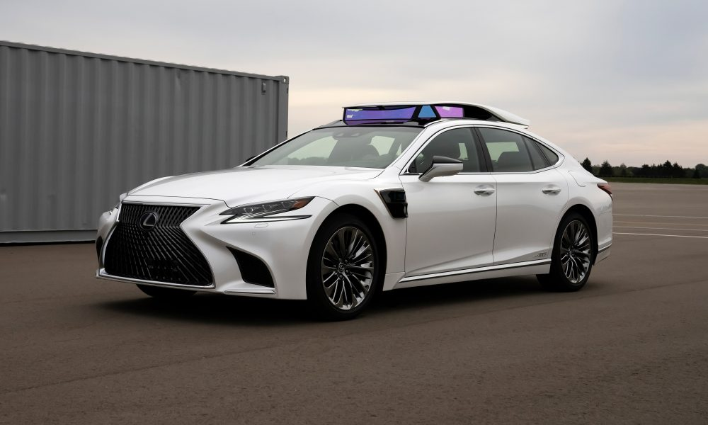 Toyota to Offer Rides in SAE Level-4 Automated Vehicles on Public Roads in Japan Next Summer