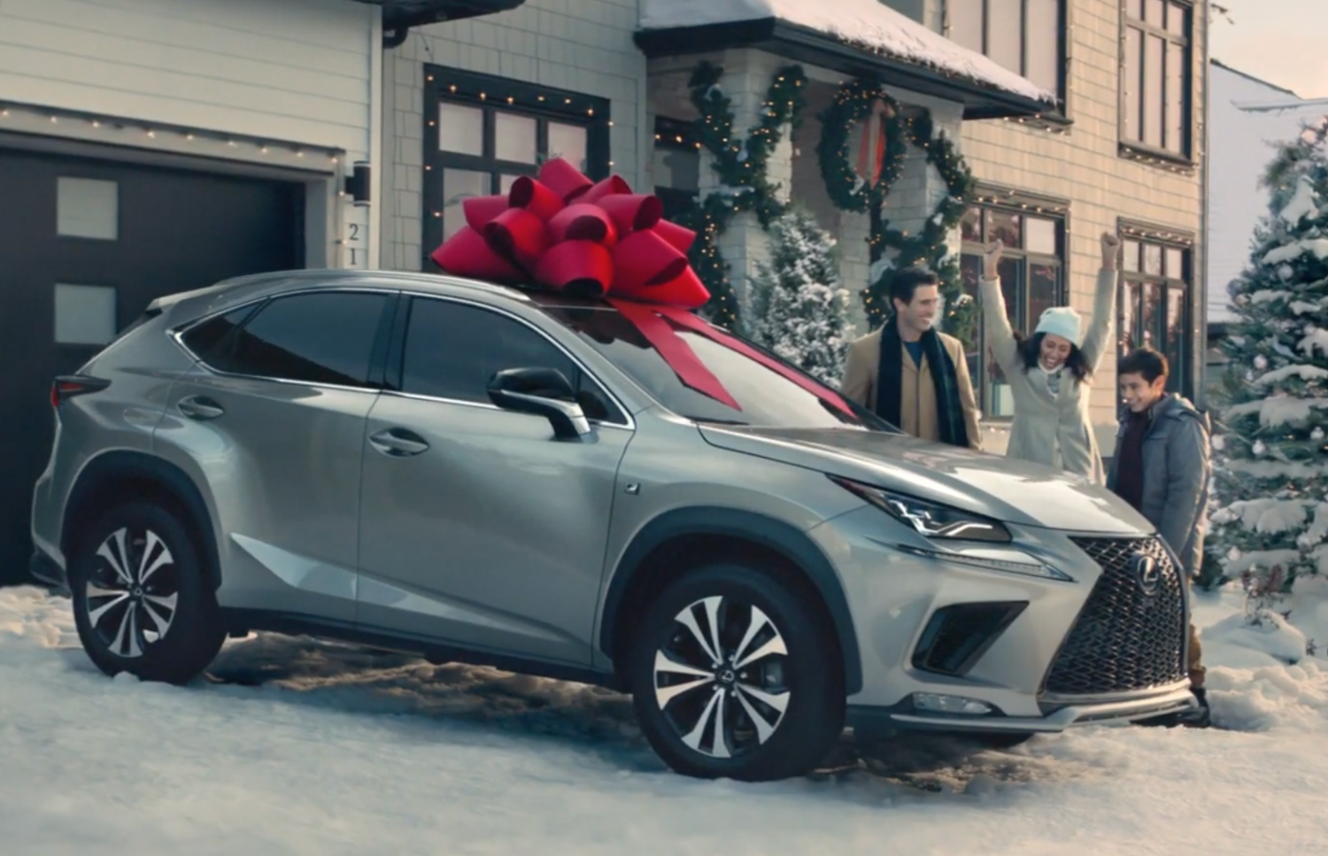 Lexus Christmas Commercial 2020 Tis the Season for Giving: 20 Years of Lexus' Signature Red