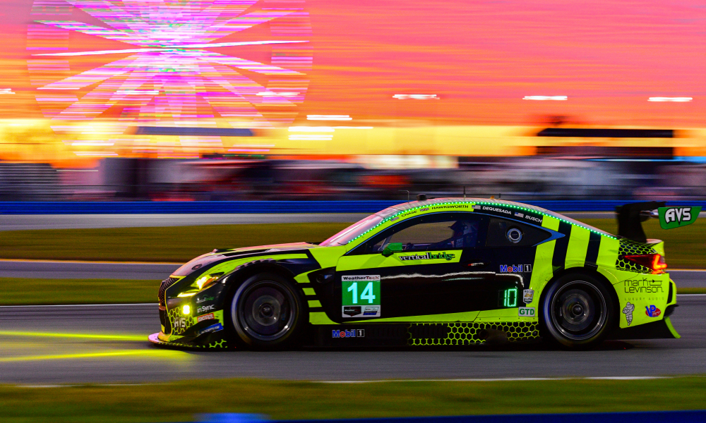Lexus RC F GT3 Earns Top-10 Result in Rolex 24 at Daytona