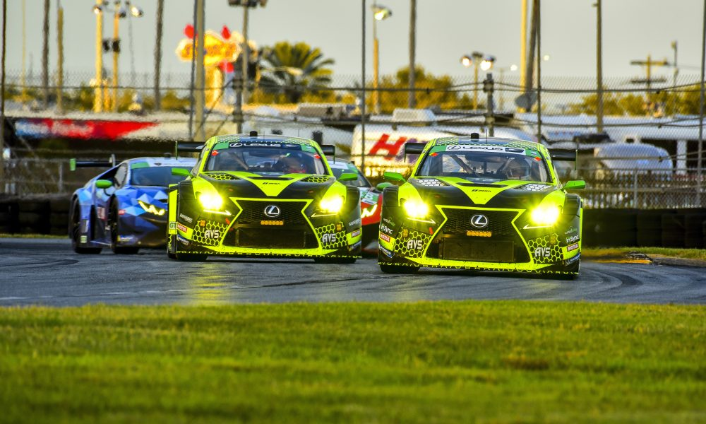 Lexus RC F GT3 Returns for 2020 Racing Season at Rolex 24