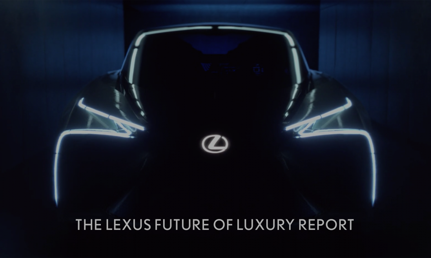 Lexus Releases Future of Luxury Report for the New Decade