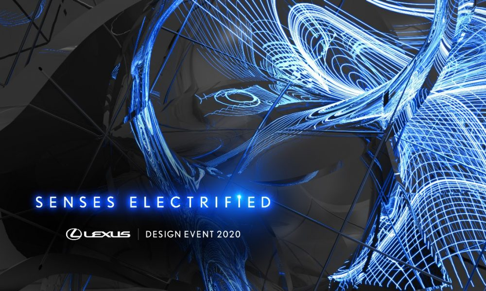 LEXUS' ELECTRIFICATION DRIVES SENSORY EXPERIENCE AT MILAN DESIGN WEEK 2020