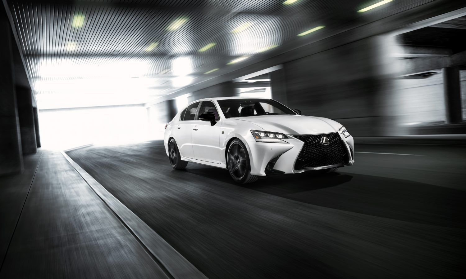 "LEXUS CRAFTS THE ""BEST EVER"" GS IN<br>BLACK LINE SPECIAL EDITION MODEL"