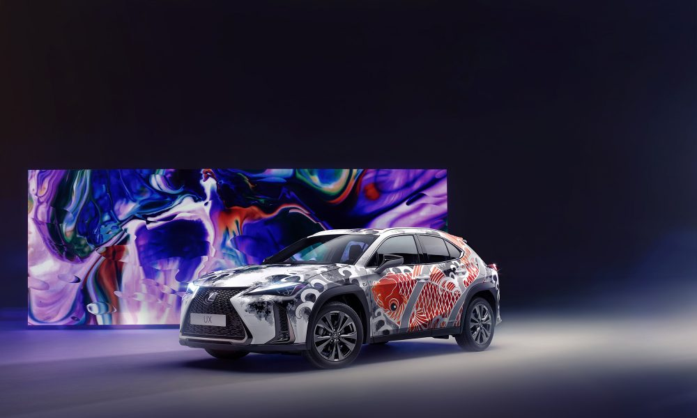 "Ground-breaking Tattooed Lexus UX Offers the Chance to ""Ink Big"""