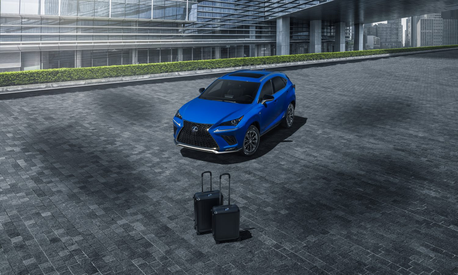 2021 NX HYBRID F SPORT GETS A TOUCH OF STYLE WITH BLACK LINE FLAIR