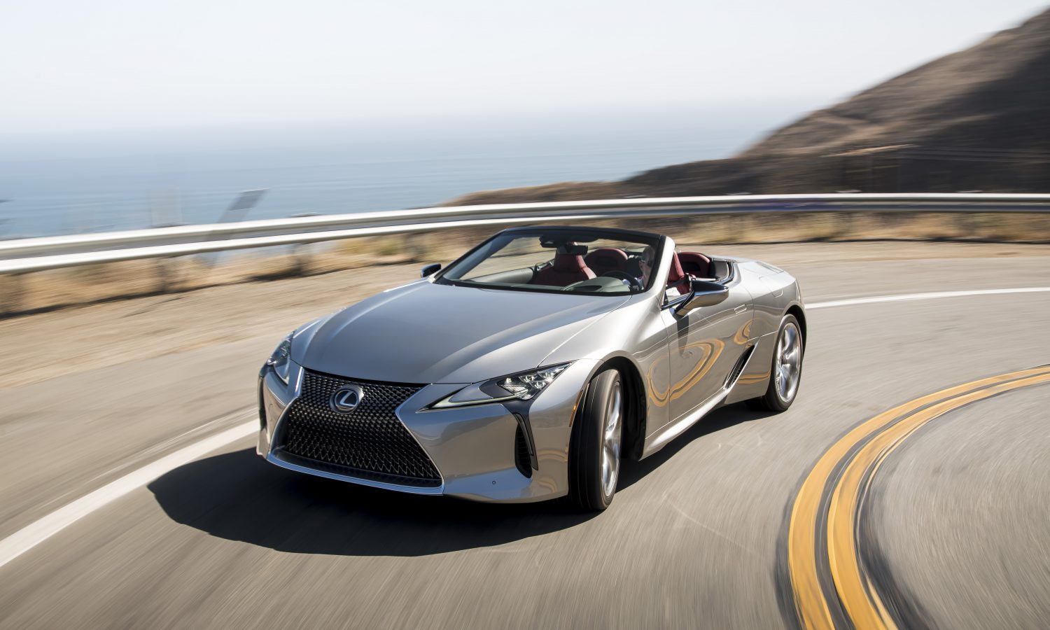 2021 Lexus LC 500 Convertible Opens Possibilities for Flagship Performance